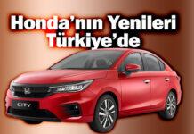 Honda ailesinin beklenen modelleri Accord ve City Türkiye'ye geliyor