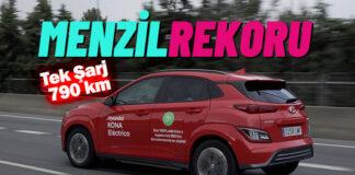 Hyundai KONA Electric'ten yeni rekor!..