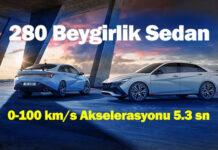 Hyundai Elantra N: Hyundai'nin ilk yüksek performanslı sedanı