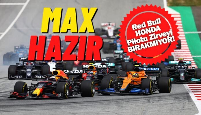 Formula 1'de Red Bull Honda Pilotu Verstappen'in şakası yok!