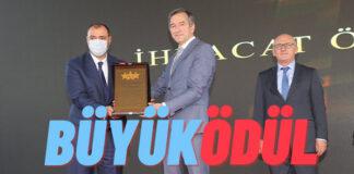 Toyota Otomotiv Sanayi Türkiye'ye Büyük İhracat Ödülü