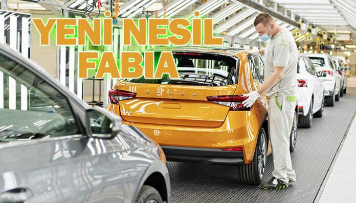 ŠKODA Yeni Nesil FABIA'nın üretimine başladı