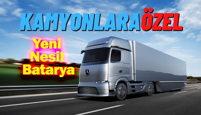 Daimler Truck AG ve CATL, kamyonlara özel batarya üretecek