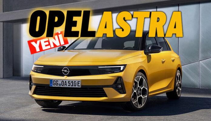 Opel Astra tamamen yenilendi ve şarj edilebilir hibritle elektriklendi