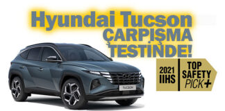 Hyundai Tucson'a IIHS çarpışma testinden tam not!