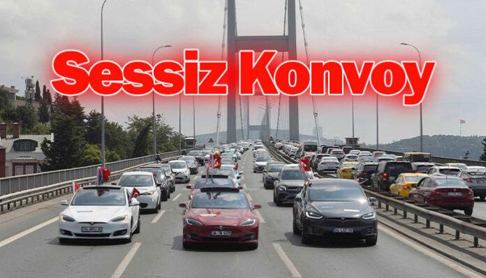 """30 Ağustos Zafer Bayramı""""Sessiz Konvoy"""" ile kutlandı…"""