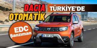Yeni Dacia Duster otomatik şanzımanla Türkiye'de
