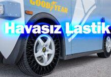 Goodyear'ın havasiz lastiklerinin karayolu testleri başladı!