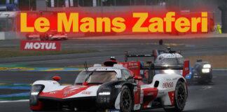 TOYOTA GAZOO Racing Le Mans'ta üst üste dördüncü zaferini aldı