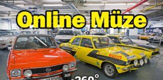 Opel'in klasik modellerini Opel Müzesi'nden online izle!