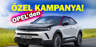 Opel'den binek ve ticari araç modellerine özel kampanya