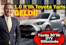 185 bin TL'ye Yılın Otomobili seçilen Toyota Yaris!