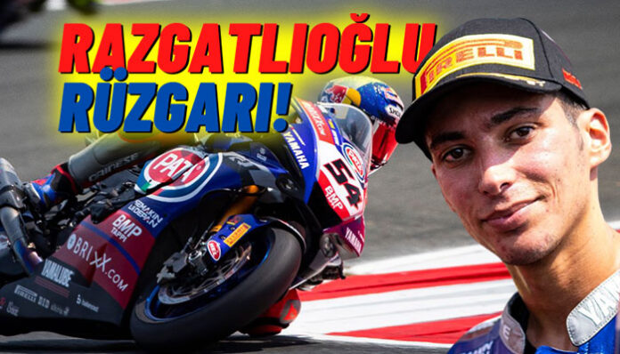 Toprak Razgatlıoğlu,Dünya Superbike Şampiyonası'nda liderliğe yükseldi!