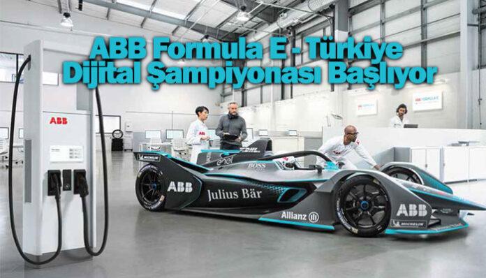 ABB Türkiye, Türkiye'nin ilk ABB Formula E Dijital Şampiyonası'na sponsor oldu
