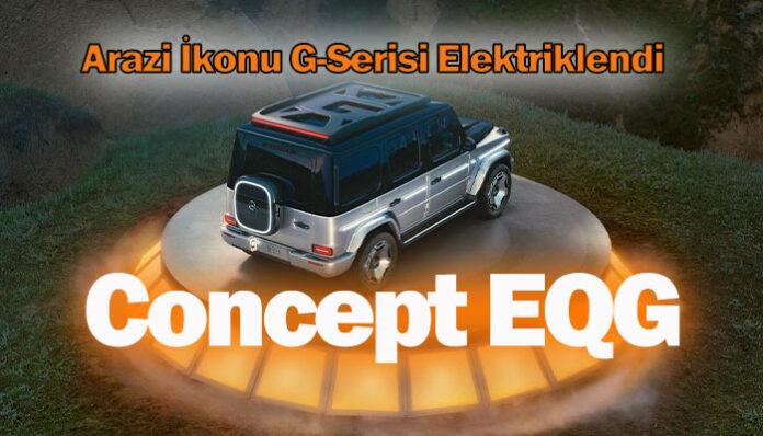 Efsanevi arazi aracının tamamen elektrikli versiyonu: Concept EQG