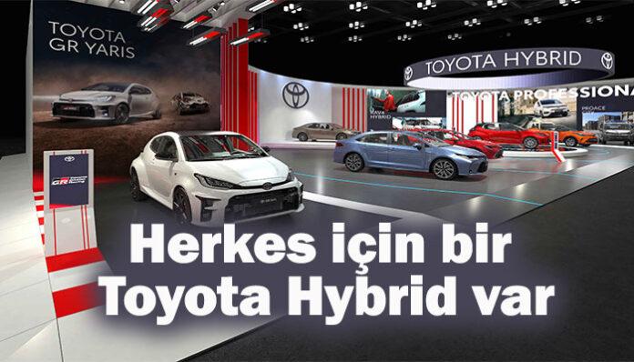 Toyota'dan Autoshow 2021 Mobility Fuarı'nda hibrit geçidi!