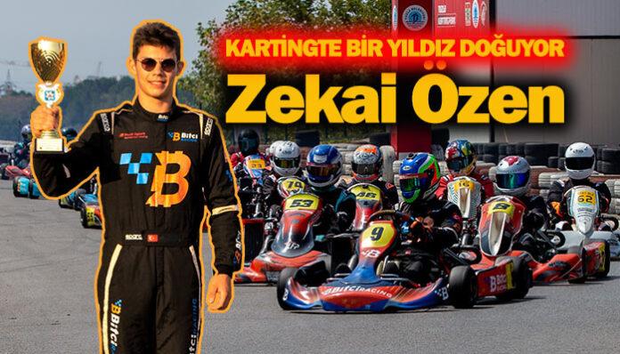 Türkiye'nin gelecek vadeden yarış pilotu, Zekai Özen!