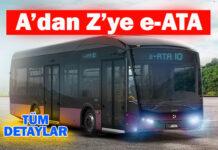 e-ATA elektrikli otobüs