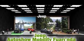 Jeep Autoshow'da 80. Yıl Özel Seri Versiyonlarıyla yerini aldı