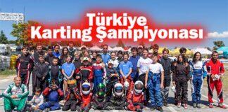 Türkiye Karting Şampiyonası 5. Ayak yarışları Uşak'ta yapıldı