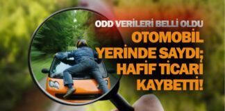 Türkiye otomobil ve hafif ticari araç toplam pazarı verileri