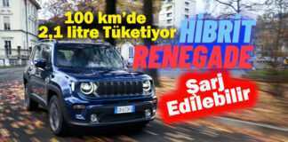 Hibrit Aracı Jeep Renegade