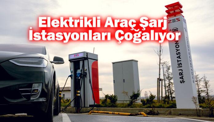 Elektrikli araç şarj istasyonu