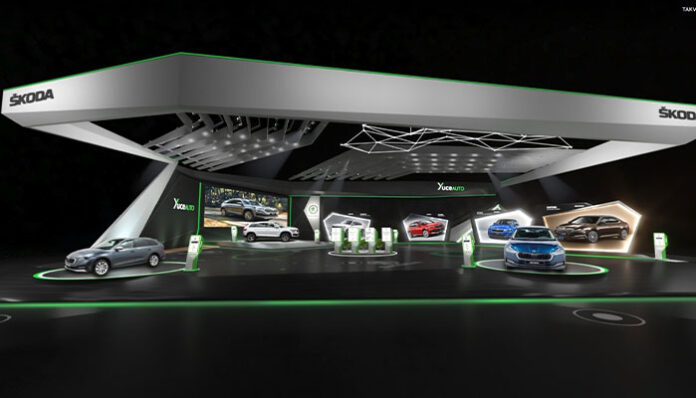 Skoda yenilikleriyle Autoshow Mobility Fuarı'nda yerini aldı