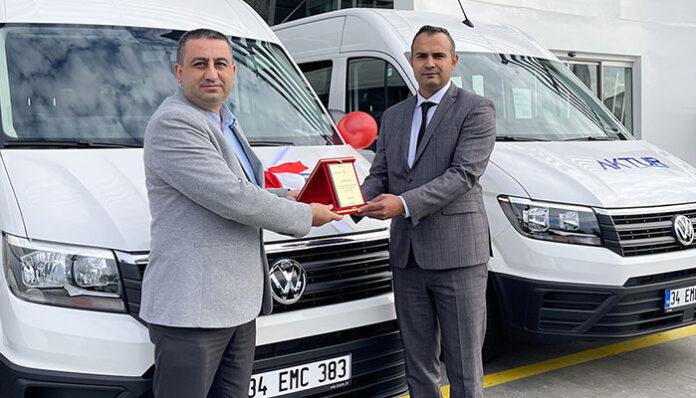 Aktur Turizm araç filosunu Volkswagen Crafter ile güçlendirdi