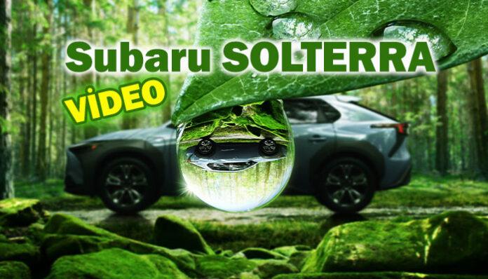 Subaru'nun elektrikli SUV aracı SOLTERRA