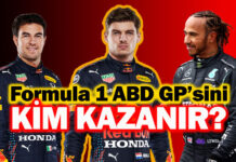 Formula 1 ABD GP'sinde ibre Max Verstappen'i gösteriyor!