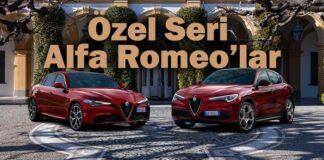 Alfa Romeo Giulia ve Stelvio