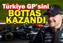 F1 Turkish GP'sinde Valtteri Bottas, rahat kazandı!