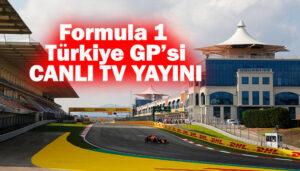 Formula 1 Türkiye Grand Prix'sinin Canlı TV programı belli oldu