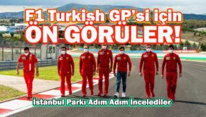 Formula 1 Rolex Türkiye GP'sinin şifreleri