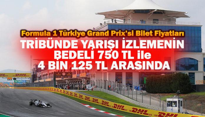 Formula 1 Türkiye GP'