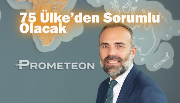 Prometeon Tyre Group'ta Türk yöneticiye üst düzey görev