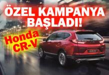Honda'nın SUV modeli CR-V'ye özel kredi kampanyası