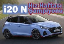 Hyundai i20 N, Hız Haftası şampiyonu oldu