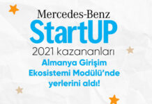 Mercedes-Benz StartUP 2021 kazananları Almanya Girişim Ekosistemi modülüne katılıyor