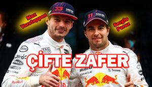 Formula 1 Türkiye GP'sinde Red Bull Honda'dan çifte zafer!