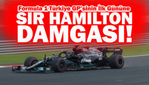 İstanbul Park'ın en hızlısı Lewis Hamilton